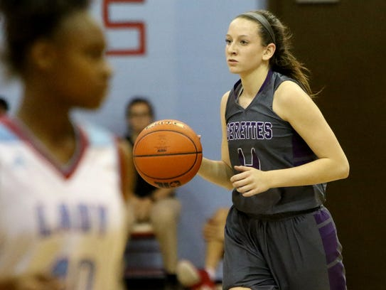 Point guard Trinity Tisdale is described as Jacksboro's motor by coach Todd Matlock.