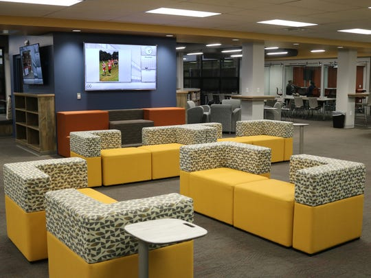 "Feedback has been ""awesome"" on the newly renovated student union and media center at Port Clinton High School."