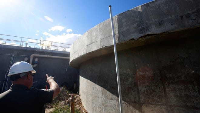 Bloomfield water reclamation facility operations foreman Dave Sonnenberg talks about the repairs needed at the facility in a file photo from Sept. 12, 2016. The treatment plant is one of the priority infrastructure projects for the city and will cost $11 million to replace.