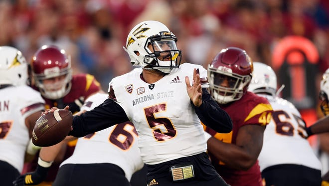 Can Manny Wilkins and the Sun Devils upset another ranked foe in Tempe?