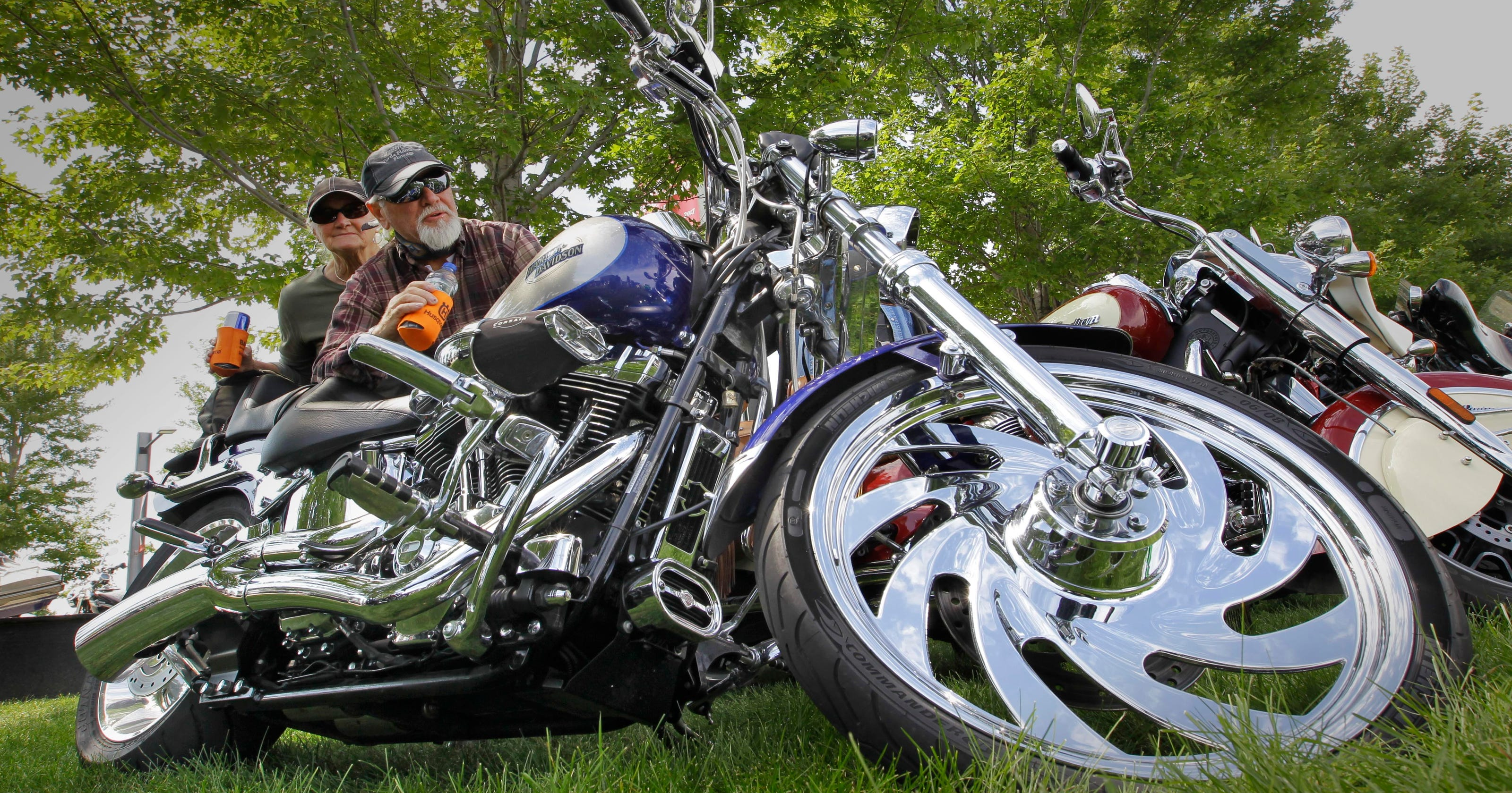 Harley-Davidsons are classic Americana with foreign-sourced parts
