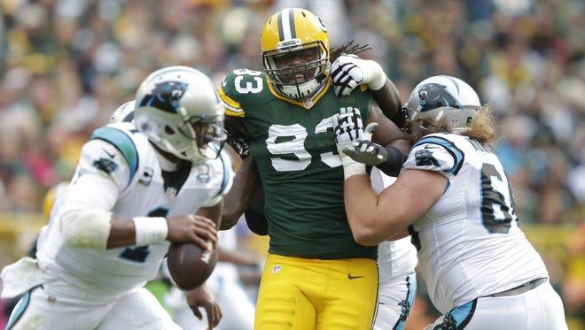Green Bay Packers defensive end Josh Boyd.