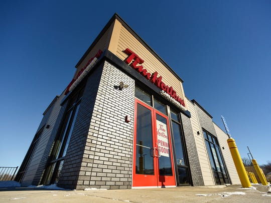 Tim Hortons is getting ready to open shown  Wednesday, Feb. 21, at 612 Roosevelt Road.