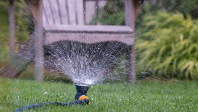 Watering a lawn daily promotes shallow roots. Less frequent, deeper watering encourages deeper roots.