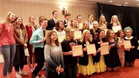 The Fox Cities Youth Alliance Awards were presented by the Volunteer Center of East Central Wisconsin April 26. The awards honor youth for their spirit of volunteerism.