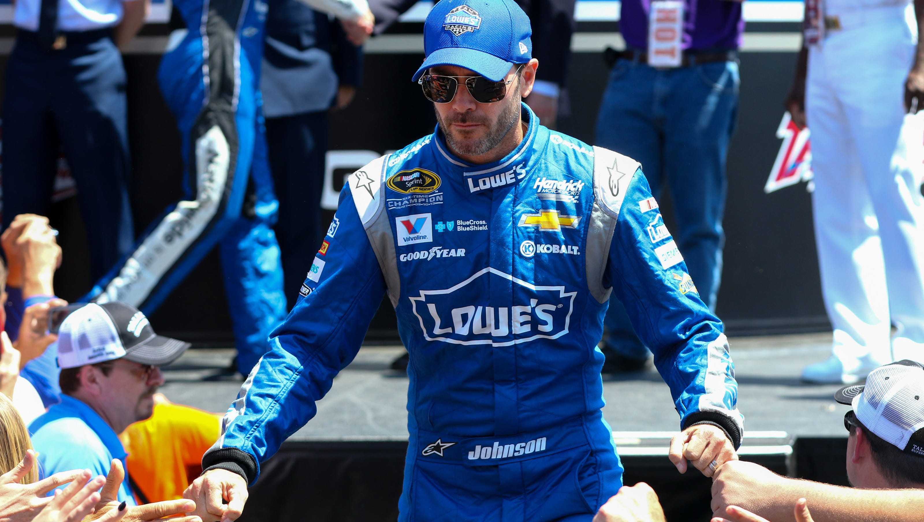 12 Questions with Jimmie Johnson