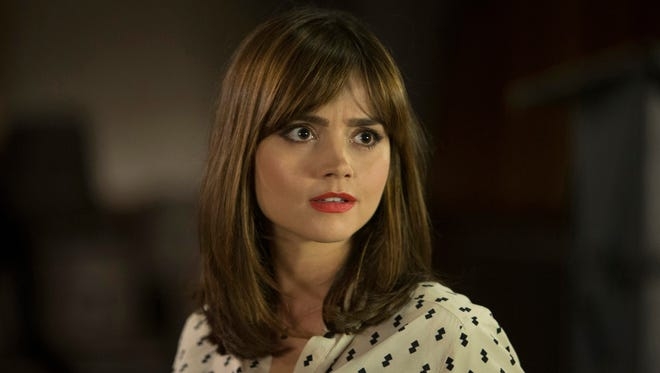 Jenna Coleman on 'Doctor Who.'
