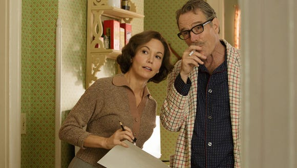 "Diane Lane and Bryan Cranston star in ""Trumbo."""