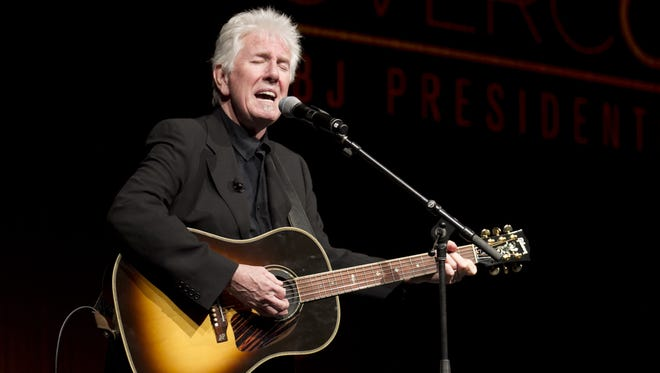 Rock and Roll Hall of Famer Graham Nash will perform in Nashville as he prepares to release his first solo album in 14 years.