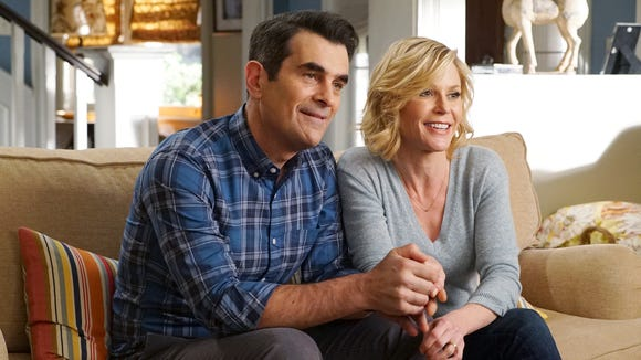 Ty Burrell and Julie Bowen in ABC's 'Modern Family.'