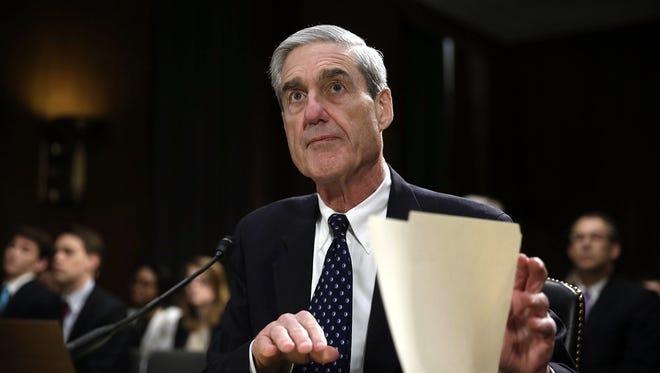 Then-FBI Director Robert Mueller in 2013.