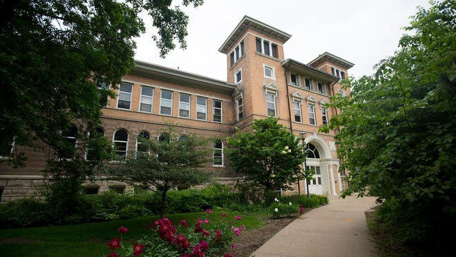 The University of Wisconsin-Stevens Point, shown in June 2016, has about 9,400 students.