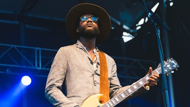 Grammy Award-winning bluesman Gary Clark Jr. performed at Freeman Stage at Bayside near Selbyville on Monday night.