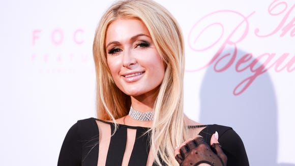 Paris Hilton attends the premiere of 'The Beguiled'