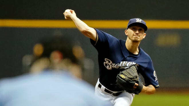 Zach Davies gives the Brewers another strong performance on Thursday night as he limits the Nationals to two runs over seven innings on six hits with two walks and six strikeouts while picking up his 16th win of the season.