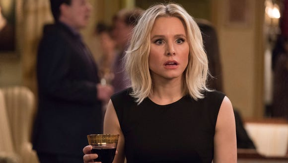 Kristen Bell (as Eleanor Shellstrop on 'The Good Place')