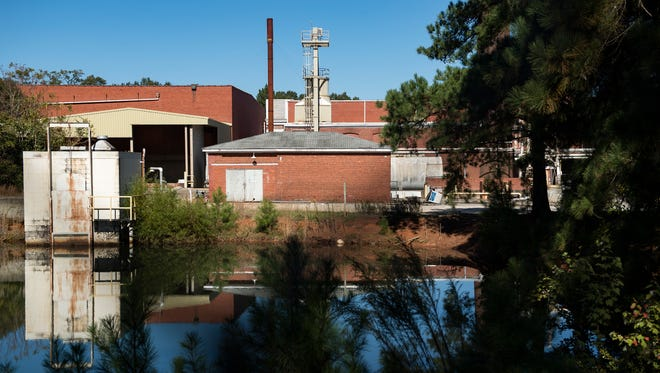 The former Judson Mill, shown here on Oct. 30, 2017, was recently sold to a North Carolina developer who plans to renovate and convert the site for residential and commercial use.