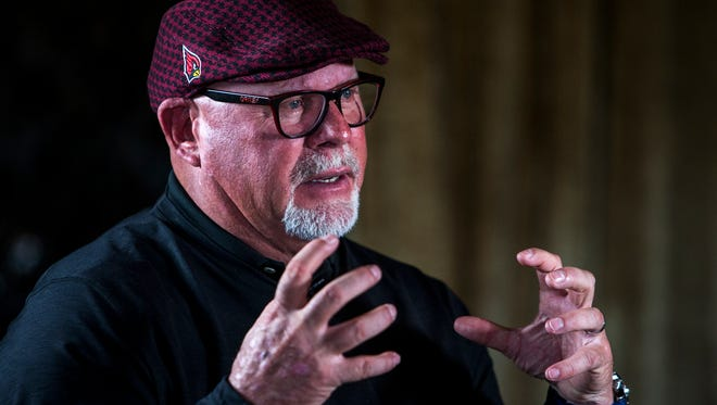 """Bruce Arians said he was fortunate as head coach of the Cardinals. """"I knew it was going to be my last job. I didn't have to be politically correct all the time, worrying about if I got fired, could I get another job?"""""""