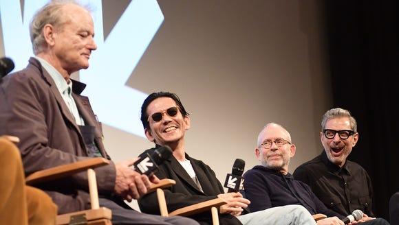 Bill Murray, Kunichi Nomura, Bob Balaban and Jeff Goldblum