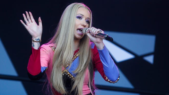 Iggy Azalea performs at the Austin City Limits Music Festival in Austin, Texas.