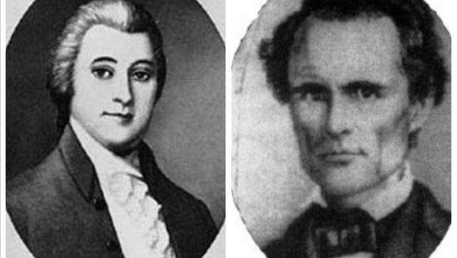 William Blount, left, was the first person to be impeached. West Hughes Humphreys was removed for making war on the U.S. government.