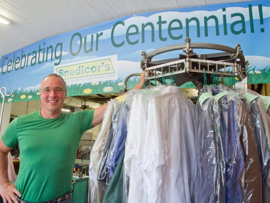 Snedicor's Green Earth Cleaners owner Jim Gilligan