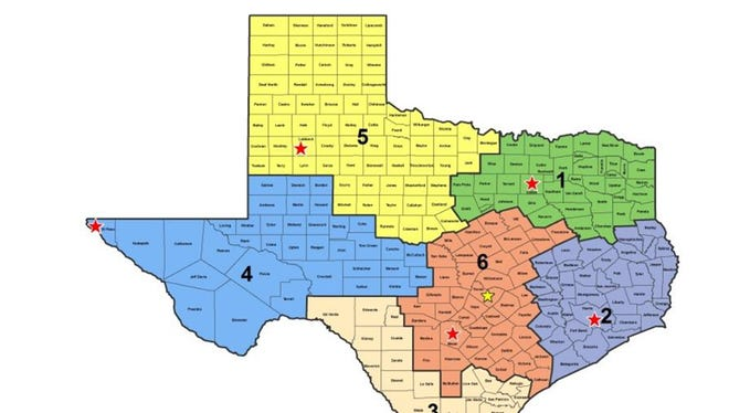 Wichita County falls into Region Five of the Texas Department of Public Safety's defined regions.