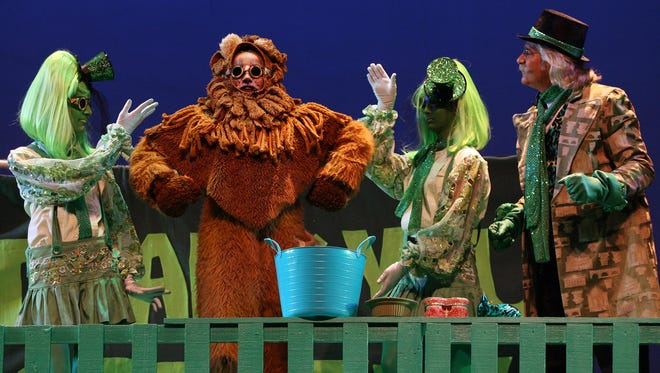 Childrens Playtime Productions performed The Wizard of Oz at the McCallum Theatre in 2010. The non-profit theater group offers educational theater programs to valley youth.