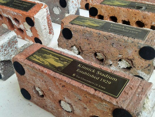 Kinnick Stadium souvenir bricks