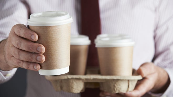 When you stop by Smoothie King or Starbucks on the way to the office, pick up a few extra drinks for your team.