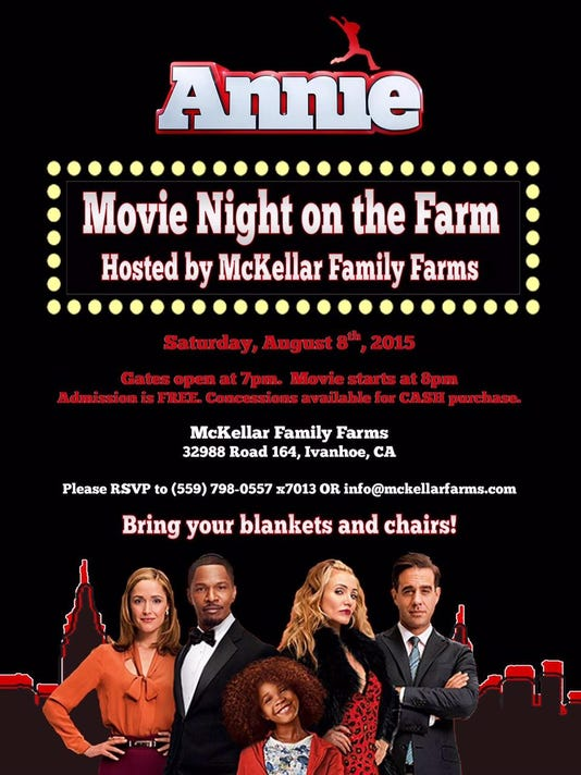 Annie Promo Poster