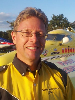 Jim Sechler of Farmington Hills remains active in powerboat racing as an inspector and engine builder.