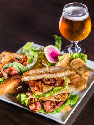 Sinema's BBLT, a BLT served with a beer, is perfect for meat-and-brew-loving dads.