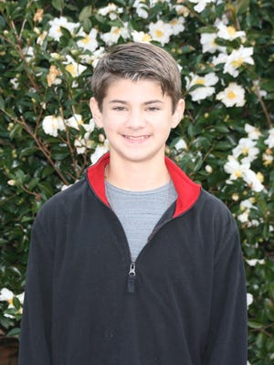 Shown is Seneca Middle School student Sterling Hamilton who has earned a coveted spot in the 2017 National ACDA Middle School Honor Choir, a first for the school and the School District of Oconee County.