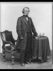 Andrew Johnson, appointed  military governor of Tennessee