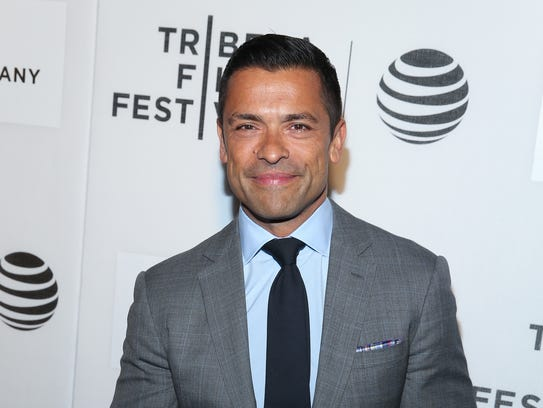 Well, there's no question actor Mark Consuelos has