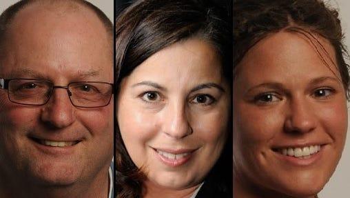 Steve Herman, Lori Palmeri and Caroline Panske