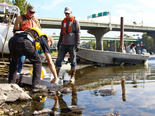 oil spill containment exercise