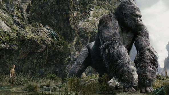 "King Kong is back in ""Kong: Skull Island."""