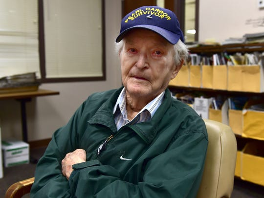 William Breland, who survived the Japanese bombing