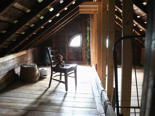 The attic of the Villisca Axe Murder House.