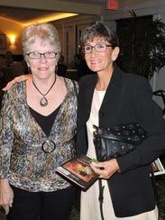 "Lynn Minter and Nancy Petrocelli at the ""Catsblanca"""