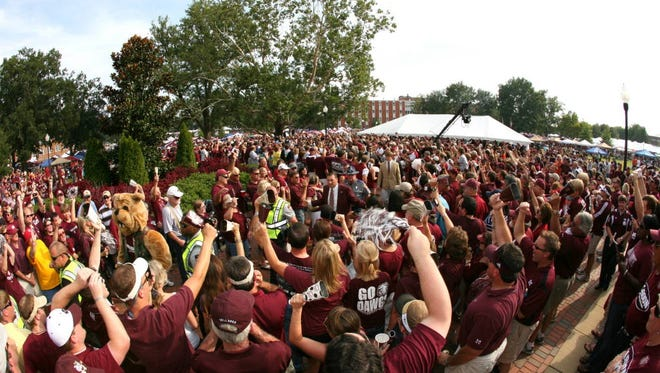 Mississippi State will host ESPN's College GameDay in the Junction on Saturday prior to the Bulldogs squaring off against Auburn.