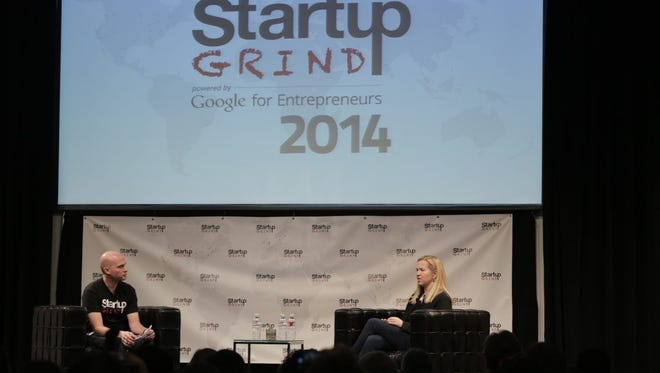 A session during one of StartupGrind's events that brings together entrepreneurs.