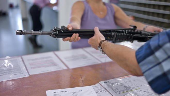 Switzerland has the highest firearm ownership in Europe.