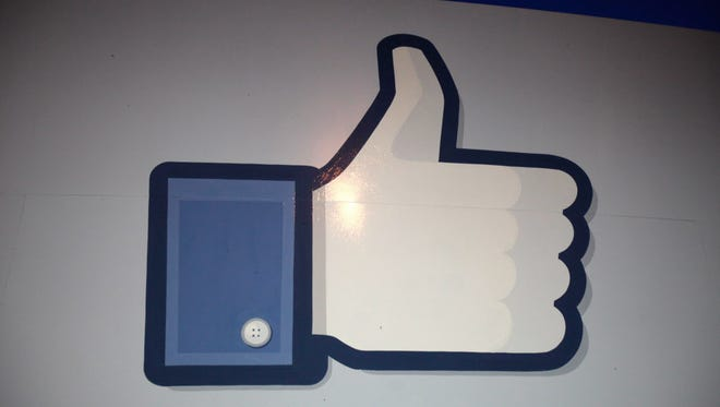 FILE - JULY 23:  According to reports July 23, 2014, Facebook Inc. sales rose to $2.91 billion in the second quarter, compared to $1.8 billion last year, topping the average analyst estimate of $2.81 billion. MENLO PARK, CA - MAY 18: A 'like' sign stands at the entrance of Facebook headquarters May 18, 2012 in Menlo Park, California. The eight-year-old social network company listed their initial public offering on NASDAQ Friday morning at $38 a share and a valuation of $104 billion, making its IPO the third largest in U.S. history after General Motors and Visa. (Photo by Stephen Lam/Getty Images) ORG XMIT: 144784171 ORIG FILE ID: 144717352