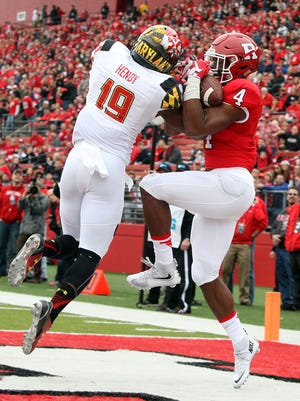 Rutgers wide receiver Leonte Carroo is going to the NFL Combine after catching 29 touchdowns in college.