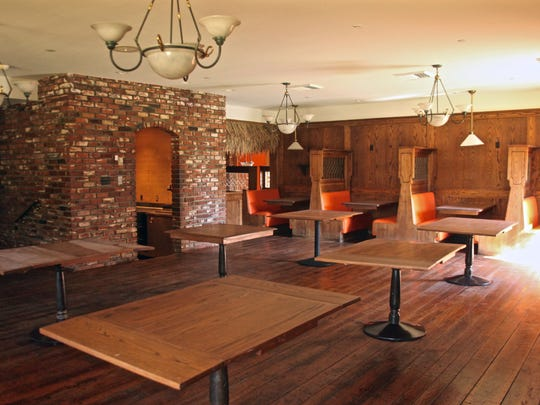 One of the dining areas of Bernie's Lounge that will be completely remodeled.