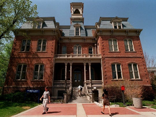 Morrill Hall was the first building erected on the UNR campus in 1885.