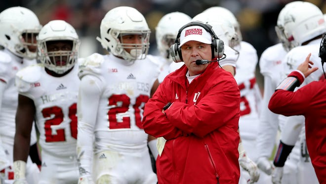 Indiana Hoosiers head coach Kevin Wilson is looking to shore up the defensive line with some of his recent recruits.